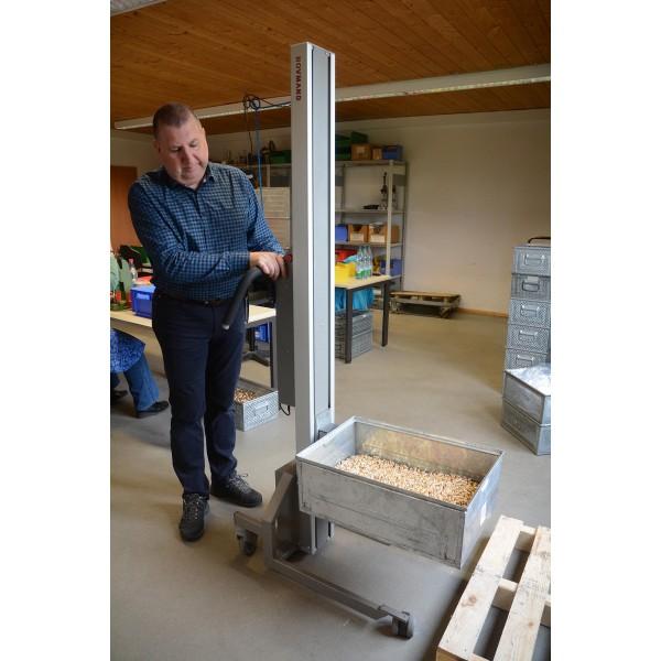 Wózek manipulacyjny 200 kg z platformą SS