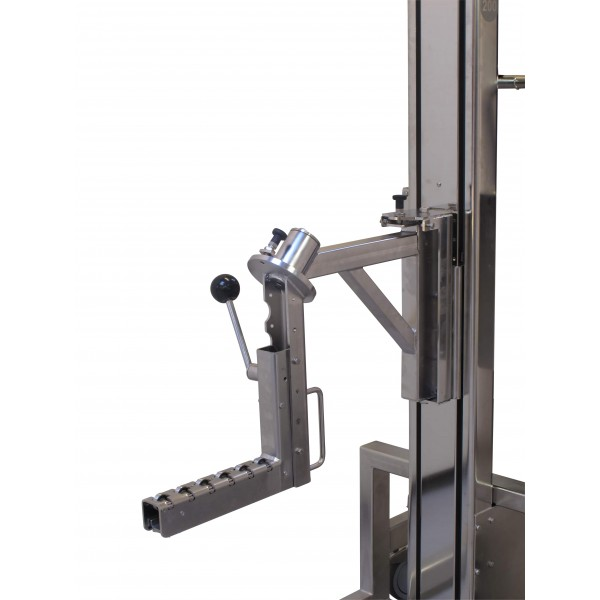 Wózek manipulacyjny 100 kg z trzpieniem rozprężnym