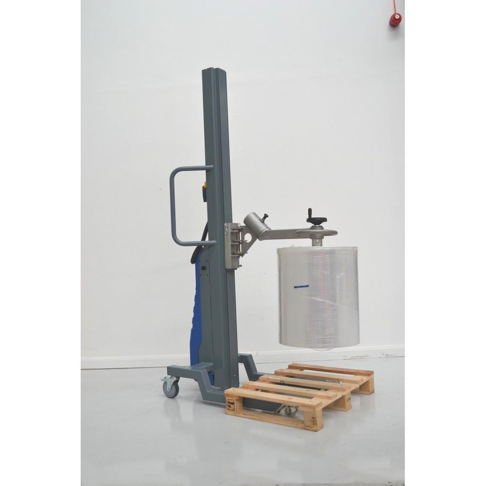 Wózek manipulacyjny 150 kg z trzpieniem rozprężnym do rolek fi76 350/850