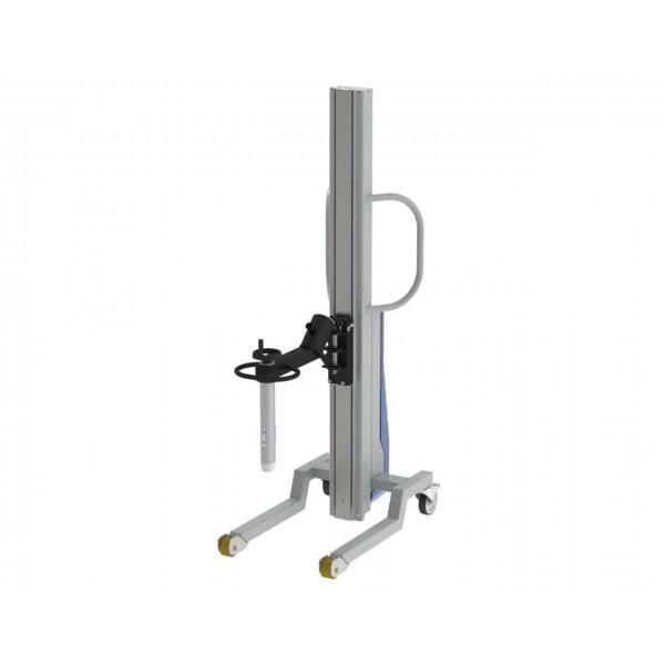 Wózek manipulacyjny 250 kg z trzpieniem rozprężnym do rolek fi76 350/850