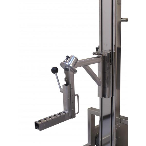 Wózek manipulacyjny 80 kg z trzpieniem rozprężnym